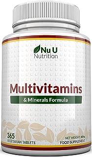 comprar comparacion MultiVitamins & Minerals Formula | 24 complemento vitamínico (Vitaminas y Minerales | végétarien | hombre/mujer | Cure D '...