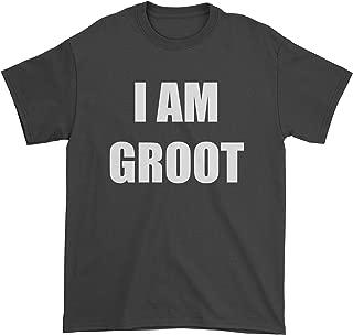Mens I Am Groot T-Shirt Black