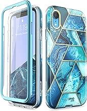 i-Blason Cosmo Full-Body Bumper Case for iPhone XR 2018 Release, Ocean Blue, 6.1