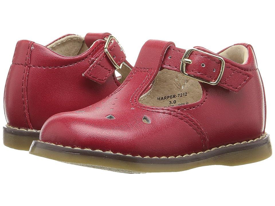 FootMates Harper (Infant/Toddler) (Apple Red) Girls Shoes