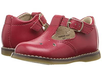 FootMates Harper (Infant/Toddler) (Apple Red) Girls Shoes