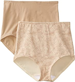 81f290d252 Bali Women s Smoothers Shapewear 2 Pack Cotton Brief with Light Control