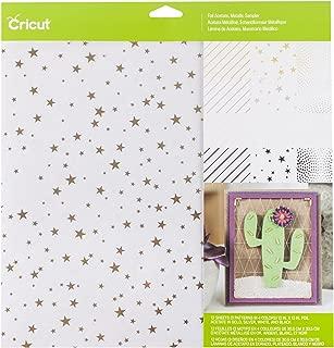 Cricut Foil Acetate Metallic Paper