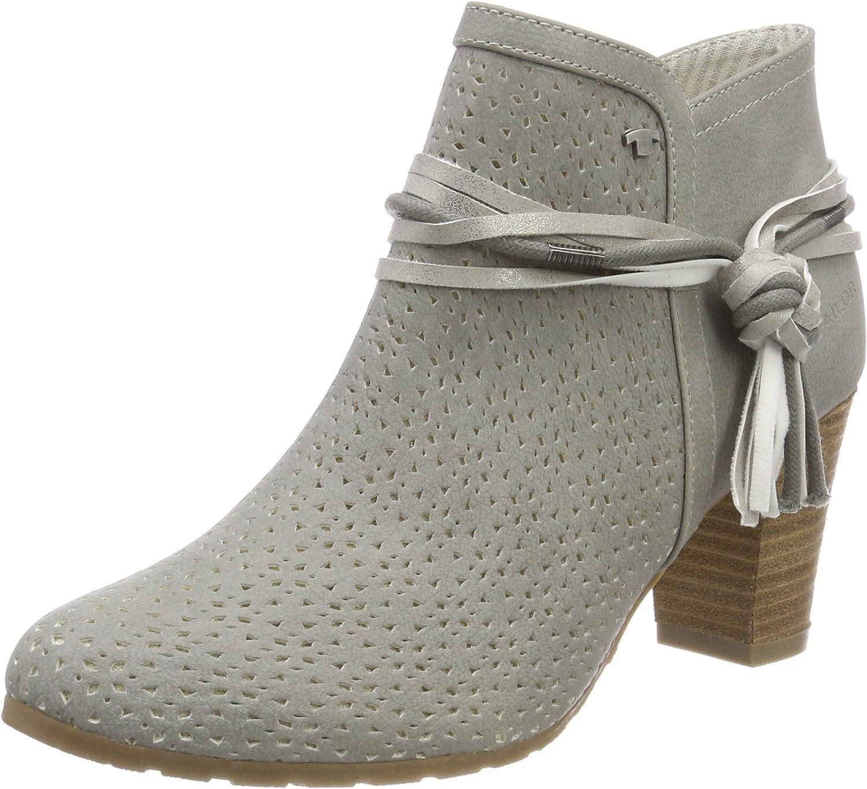TOM TAILOR für Frauen Schuhe Stiefeletten mit mit mit Lochperforation  e41fd9