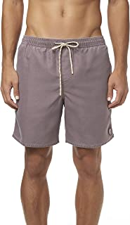 Men's Water Resistant Stretch Volley Swim Boardshorts, 17 Inch Outseam