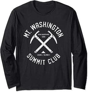 Mt Washington Summit Club | I climbed Mount Washington Long Sleeve T-Shirt