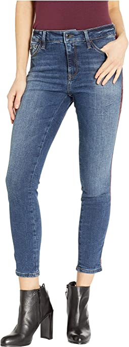 Tess High-Rise Skinny in Dark Binded