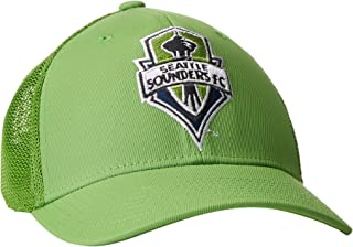 MLS Seattle Sounders Fc Womens SP17 Fan Wear Sequenced Structured Adjustable Cap One Size Green