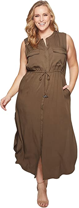 KARI LYN - Plus Size London Cargo Dress