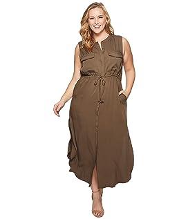 Plus Size London Cargo Dress
