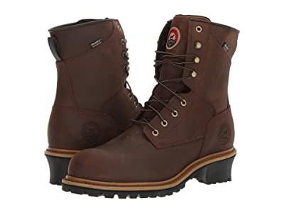 Irish Setter Mesabi 8 Steel Toe (Brown) Men