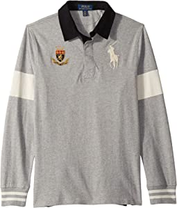 Big Pony Cotton Jersey Rugby (Big Kids)