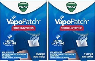 Vicks Vapopatch with Long Lasting Soothing Vapors, Two 5ct Cartons