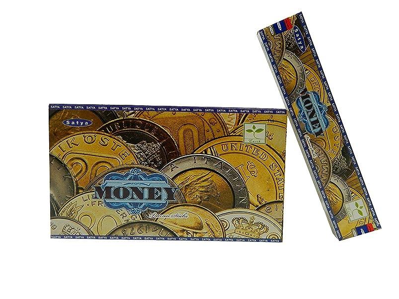電子雄弁家から聞くSatya Nag Champa Money Incense sticks-12packs X 15グラム( 1?)