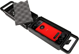 CASEMATIX Phone Mod Carry Case Holds 2 Motorola Mods - Moto Gamepad, Hasselbad Camera, JBL SoundBoost Speaker, Insta-Share Projector, Alexa Speaker, 360 Camera, Polaroid Insta-Share printer