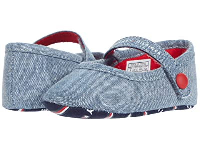 Tommy Hilfiger Kids Mareey Layette (Infant/Toddler) (Blue Chambray) Kid
