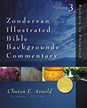 Romans to Philemon: Volume Three (Zondervan Illustrated Bible Backgrounds Commentary Book 3)