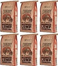 Cowboy 24220 Lump Charcoal, 20-Pound 6 Pack