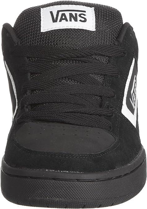 Vans M Churchill - Baskets Mode Homme - Noir (Black/White) - 42 EU ...