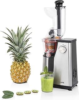 Extracteur de Jus de Fruits et Légumes vertical GSX18 H.KoenigCentrifugeuse Vitamin + sans BPA - 82 mm Large Bouche - Pres...