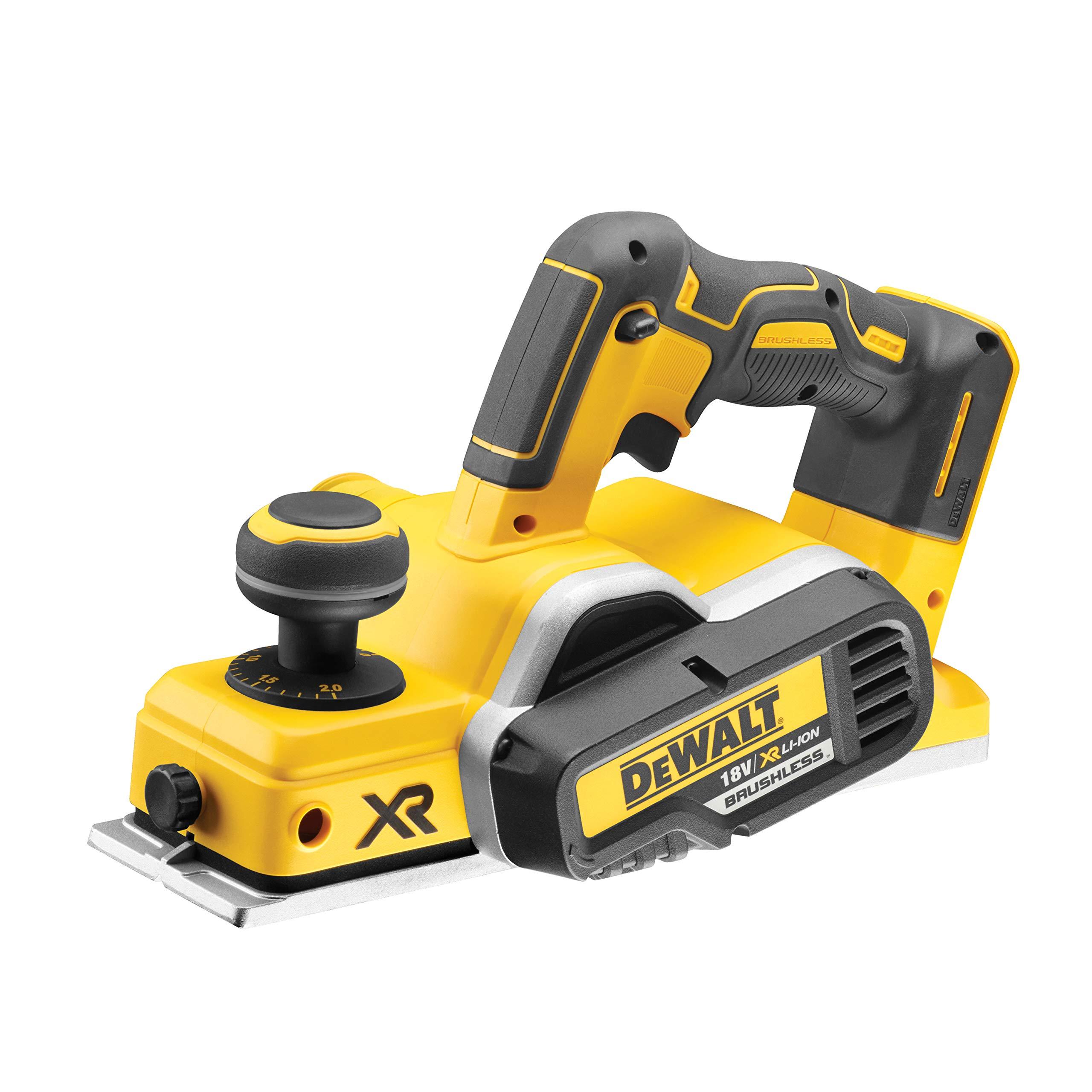 Dewalt DCP580NT-XJ Cepillo para madera XR 18V Brushless, incluye ...