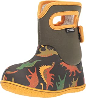 Baby Bogs Waterproof Insulated Toddler/Kids Rain Boots for Boys and Girls