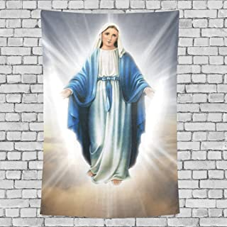 blessed mother blanket