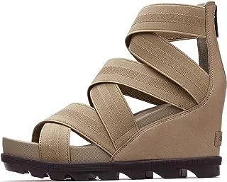 Women's Joanie II Strap Leather Open Toe Wedge Sandals