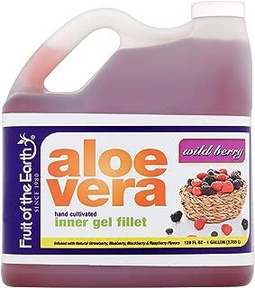 Fruit of the Earth Wild Berry Aloe Vera Juice, 128 Fl. Oz. Jug
