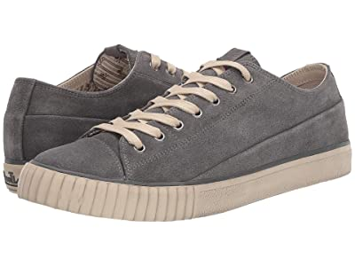 John Varvatos Vulcanized Washed Suede Low Top (Oxide) Men