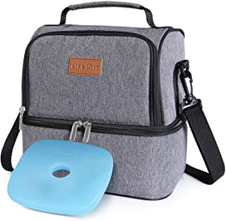 Best dual compartment lunch kit Reviews