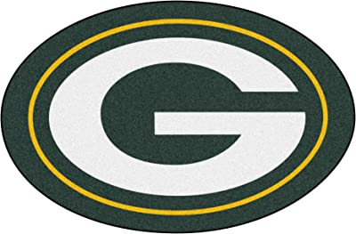 FANMATS 20970 Team Color 2' x 3' NFL - Green Bay Packers Mascot Mat