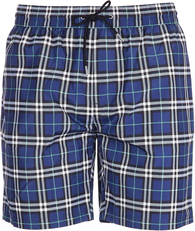 BURBERRY Men's 4071643 bluee Polyester Trunks