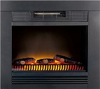 Classic Fire 'Chicago' - Calefactor eléctrico con iluminación led - 1800W