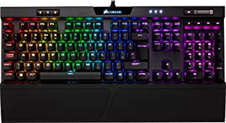 Corsair K70 RGB MK.2 Tastiera Meccanica Gaming Cherry MX Brown, Tattile e Silenzioso, Retroilluminato RGB LED, Italiano, Q...