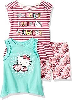 Hello Kitty Girls' 3 Piece Hoodie Set