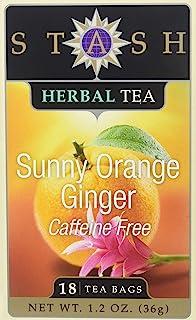 STASH TEA TEA GINGER ORANGE 18BG