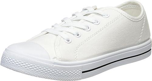 Polka Polka Mignonnes Mignonnes Mignonnes Chaussures de Sport échancrés Les Les dames Plaine 23.5cm M Blanc 480-3101 e63