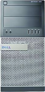 Dell 990 Tower, Core i7-2600 3.4GHz, 8GB RAM, 500GB Hard Drive, DVDRW, Windows 10 Pro 64bit (Renewed)