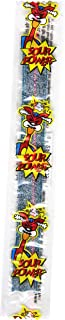 Sour Power Wrapped Belts, Blue Raspberry, Individually Wrapped Belts (Pack of 150)