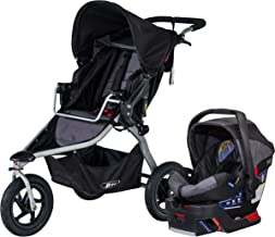 BOB Rambler Travel System with B-Safe 35 Infant Car Seat - Birth to 75 Pounds, Black