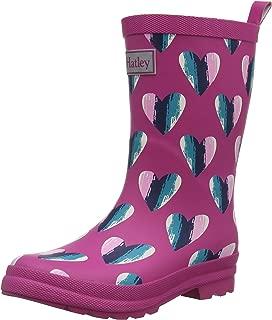Hatley Girls' Hearts Rain Boots