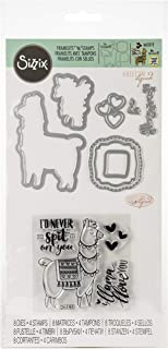 1 Bundle-2 Items- Ea Clear Cling Stamp /& Die Cut Set for Scrapbooking Card Making Llama Love Dies Stamp Stencil