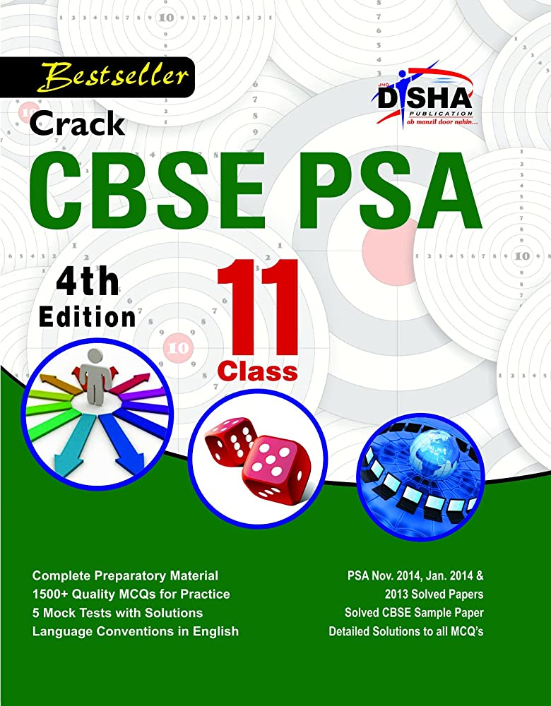 創始者下るテレビ局Crack CBSE-PSA 2015 Class 11 (Study Material + Fully Solved Exercises + 5 Model Papers) 4th Edition (English Edition)