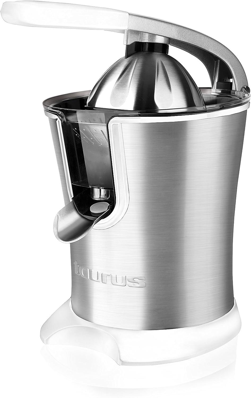 Taurus Juice 160 Exprimidor, W, 1 Liter, 0 Decibelios, Gris y blanco