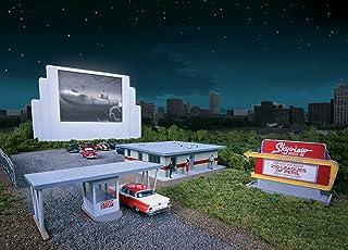 Walthers Cornerstone 933-3478 – Autokino Skyview, byggnader