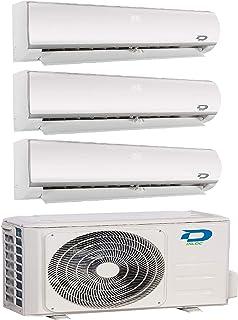 Diloc Frozen Aire Acondicionado MultiSplit, Climatizador Inverter 6,1 kW Trial Gas R32 D.FROZEN360 (9+9+12) D.FROZEN9 x 2 + D.FROZEN12)