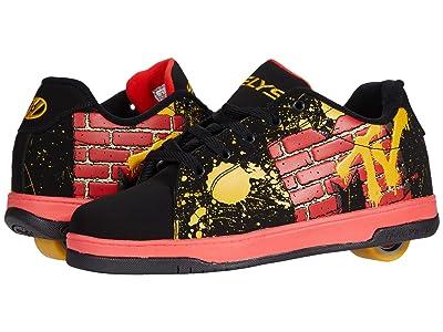 Heelys Split MTV (Black/Red/Yellow) Boy