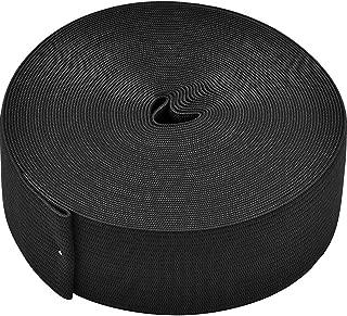 eBoot Black Elastic Spool (1.5 Inch x 11 Yard)