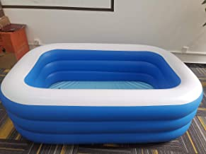 laoonl Piscinas hinchables, piscinas hinchables, piscinas infantiles, piscinas grandes/pequeñas, adultos rectangulares, piscinas para niños, adultos, bebés, jardín, patio